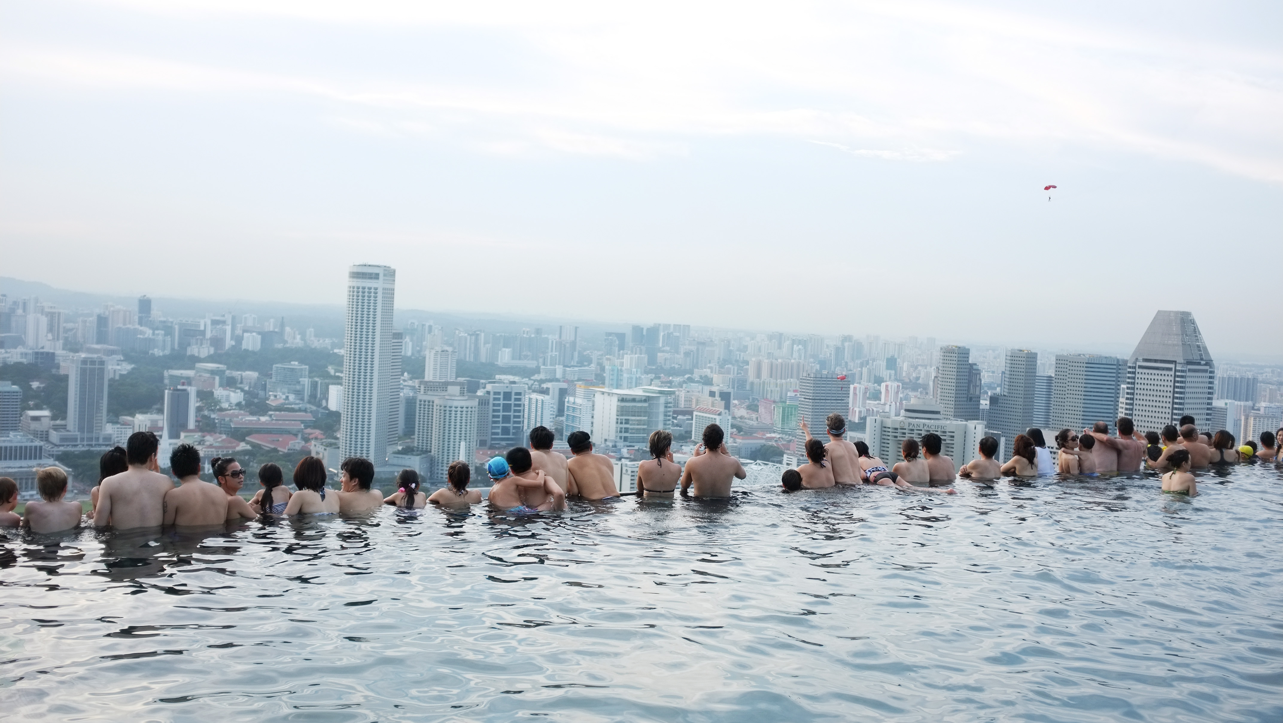 the infinity pool @ mbs | today i asked god for the clouds